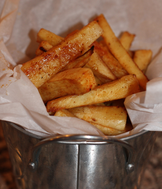 Sweet and Savory Baked Parsnip Fries - For A Digestive ...