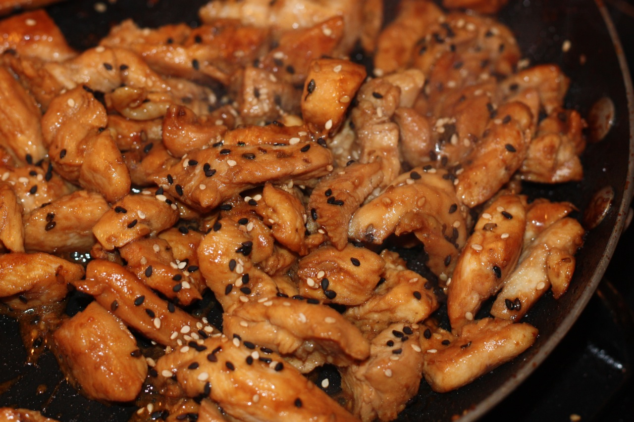 Asian Sesame Chicken Stir Fry - The well balanced FODMAPer—Kate ...