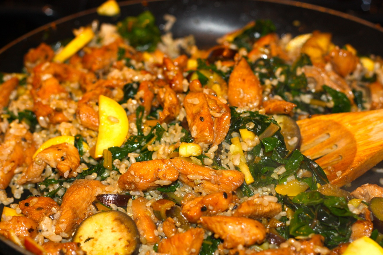 spicy asian stir fried swiss chard recipe yummly swiss chard stir fry ...