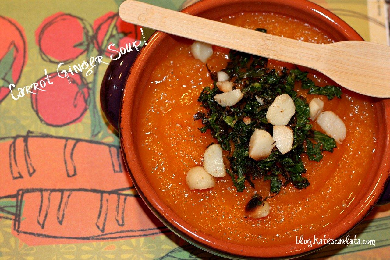 Carrot Ginger Soup! - The well balanced FODMAPer—Kate Scarlata RDN