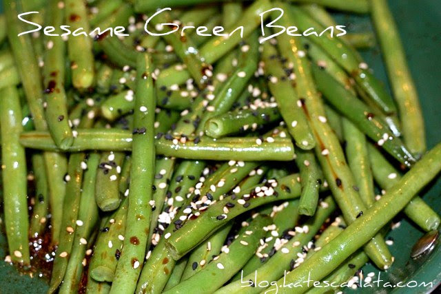 green beans done