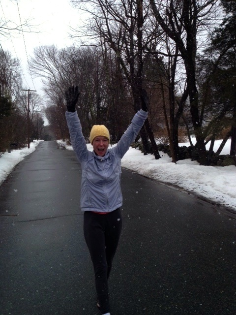 kate running