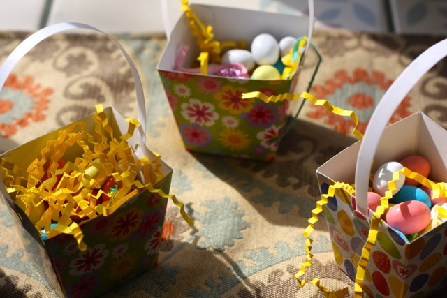 Easter basket favors