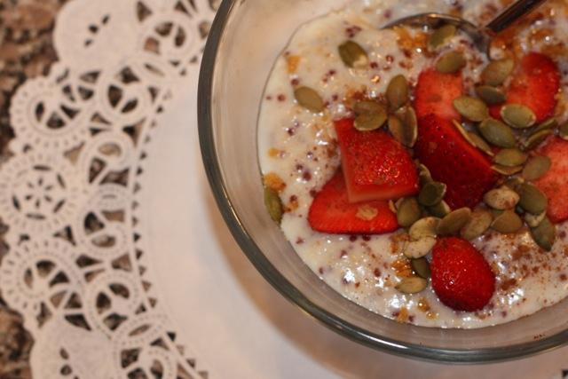high fiber porridge