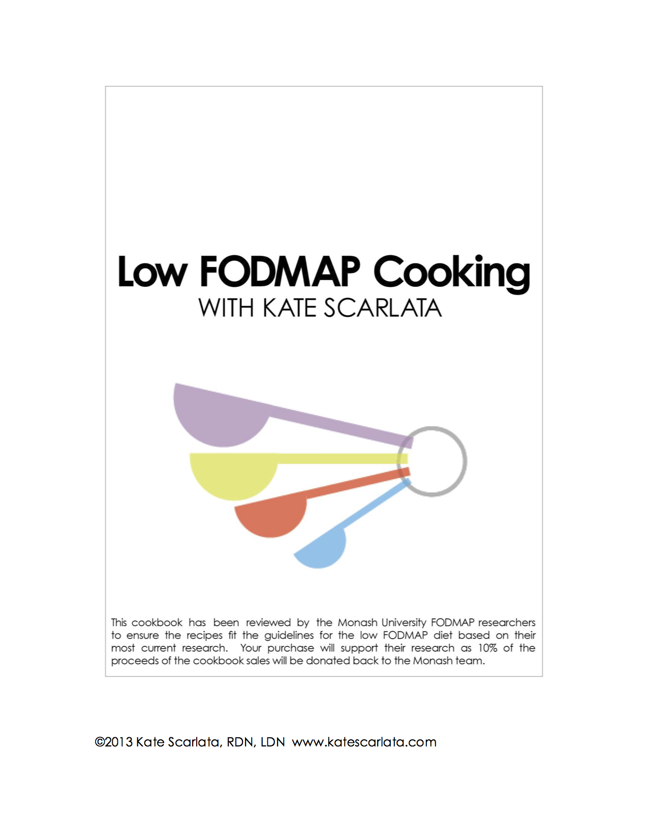 FODMAP Friendly Recipe Book COVER