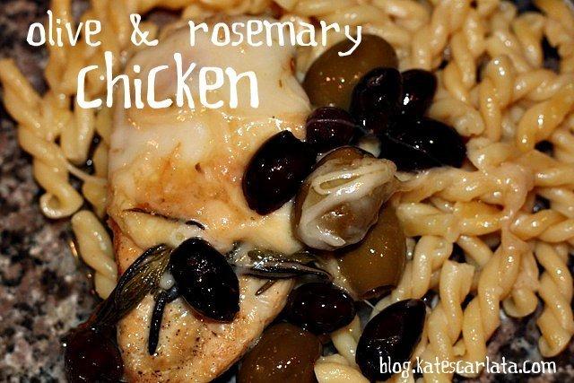 chicken is served
