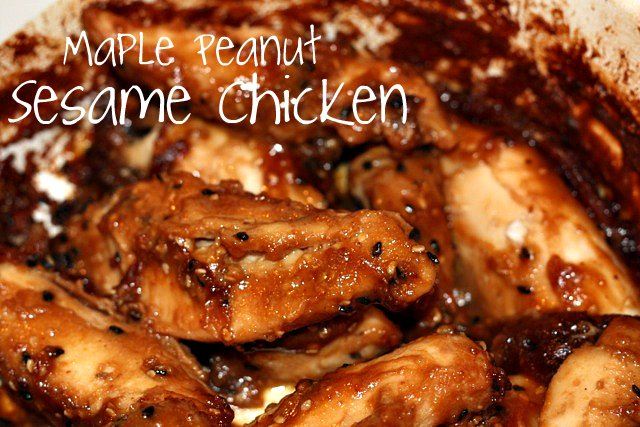 maple chicken