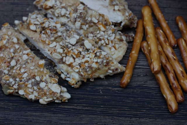 Mustard-y Pretzel Crusted Chicken - The well balanced FODMAPer—Kate ...