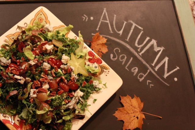 Autumn Salad www.katescarlata.com