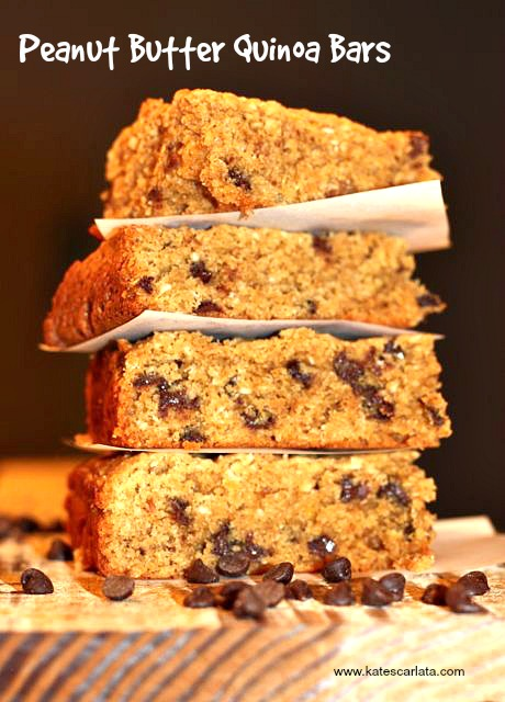 quinoa bars vertical
