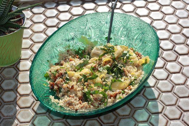 quinoa summer squash summer salad