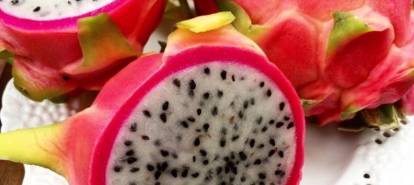 colorful dragon fruit