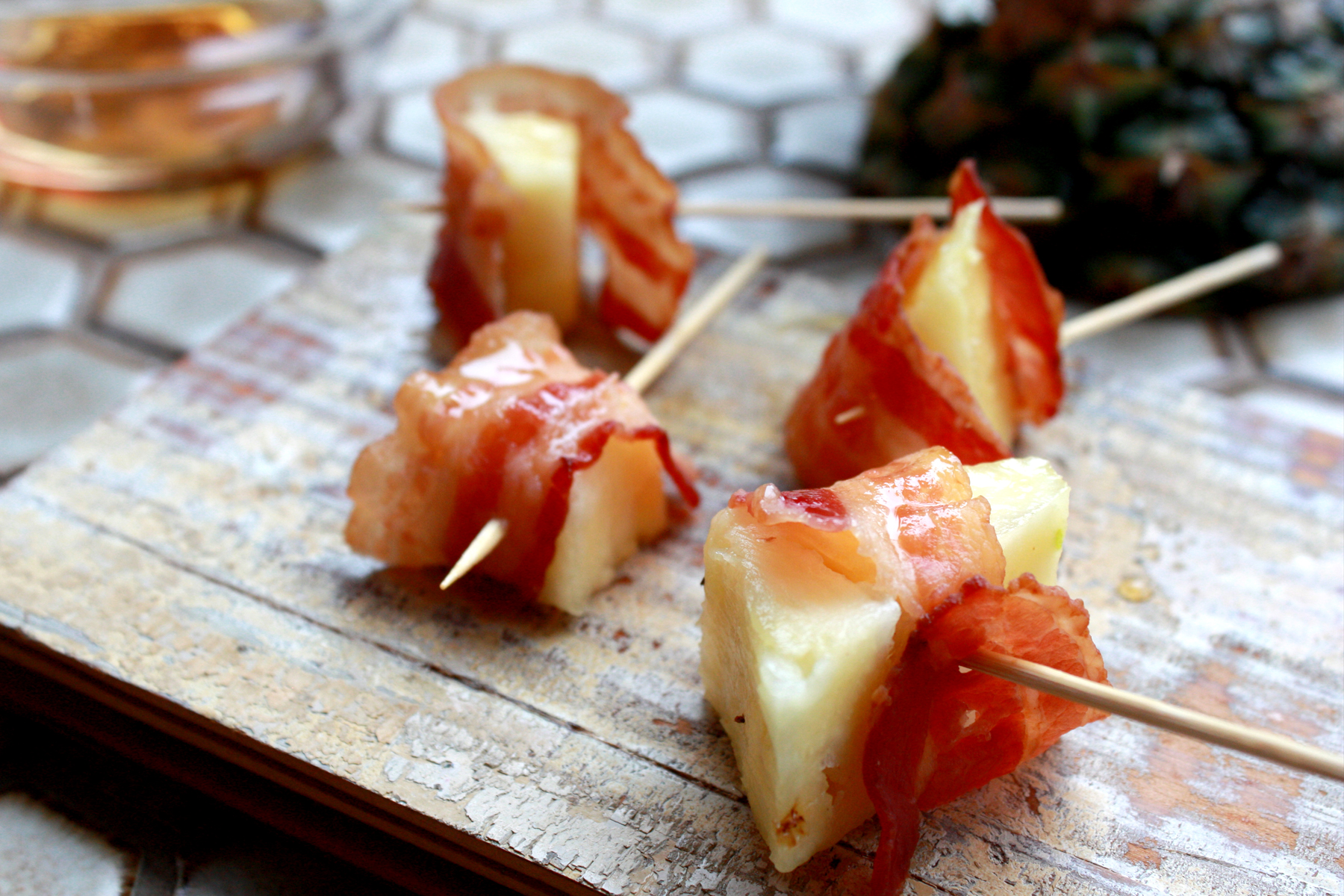 Bacon wrapped pineapple - For A Digestive Peace of Mind—Kate ...