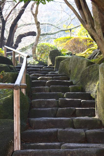 Stairs to the Hokokuji Temple