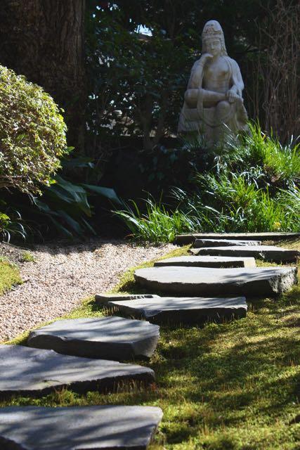 Stone walk Hokokuji temple