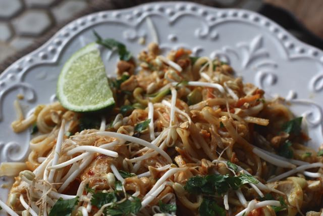 Low fodmap pad thai for a digestive peace of mindkate scarlata rdn pad thai forumfinder Images