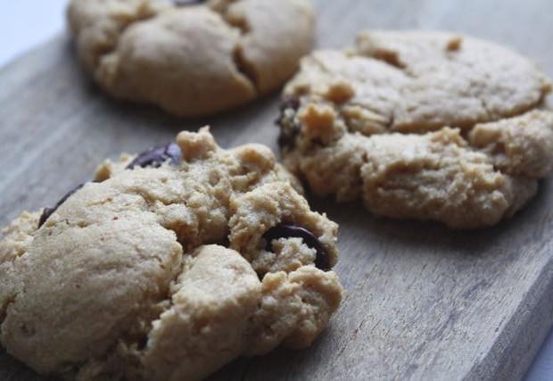 peanut butter cookies on board