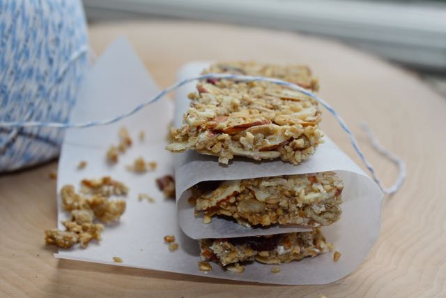 Cranberry Oat And Seed No Bake Granola Bars For A