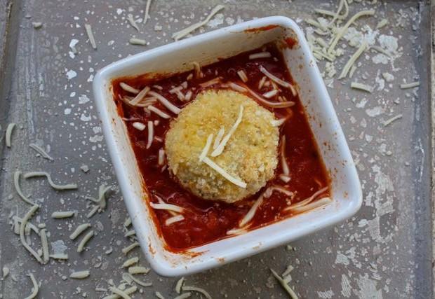 chicken parm meatball