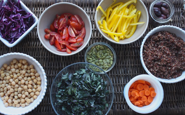 Nourish bowl ingredients