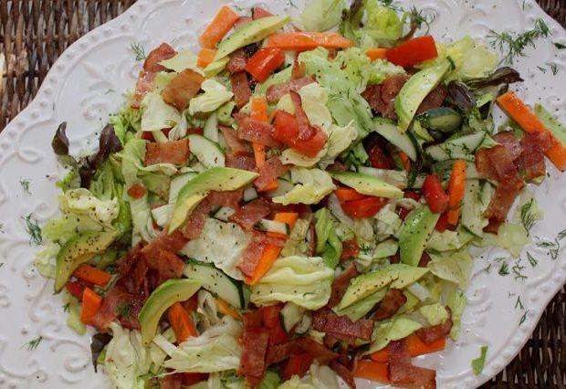 BLT salad platter