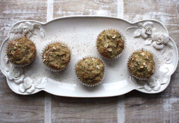 tray zucchini muffins