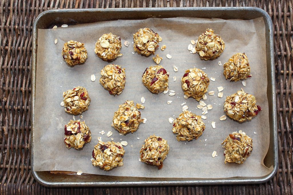 Cranberry Almond Energy Bites