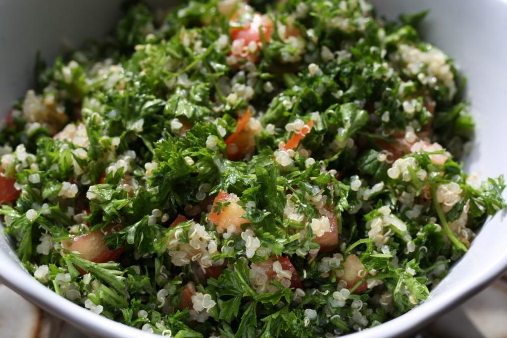 Liz's Quinoa Tabouli