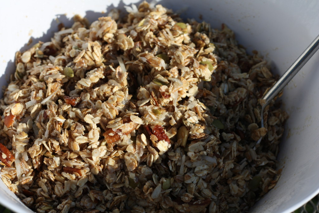 Homemade Coco-Nutty Granola