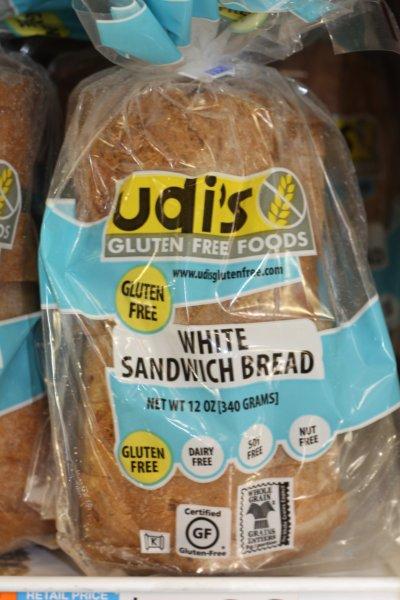 fodmap diet white bread