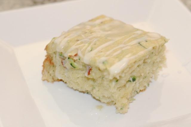 Zucchini Breakfast Cake (w/ low FODMAP version)