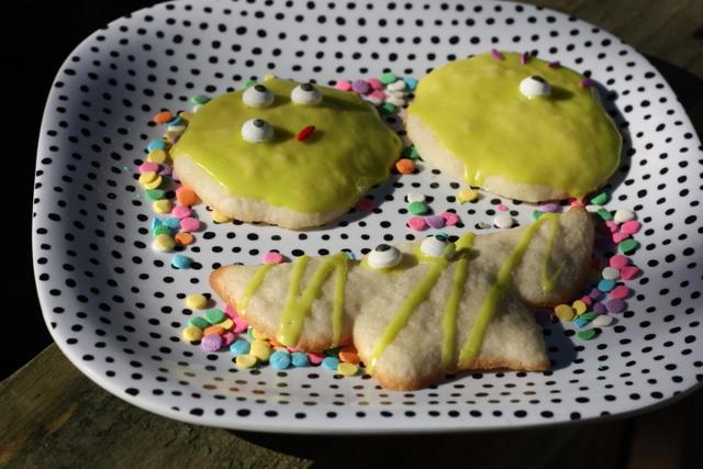 Spook-tacular Cookies Gluten free and low FODMAP sugar cookies