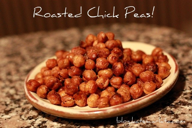 Chick Peas Roasting on an Open Fire!