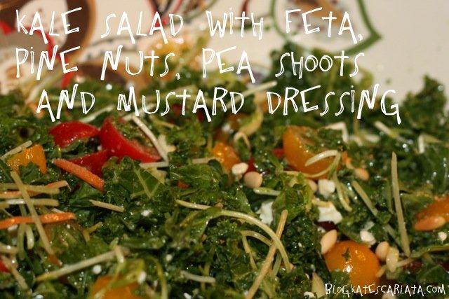 Kale Salad blog.katescarlata.com