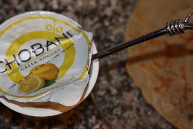 lemon chobani crepe