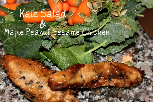 maple peanut chicken