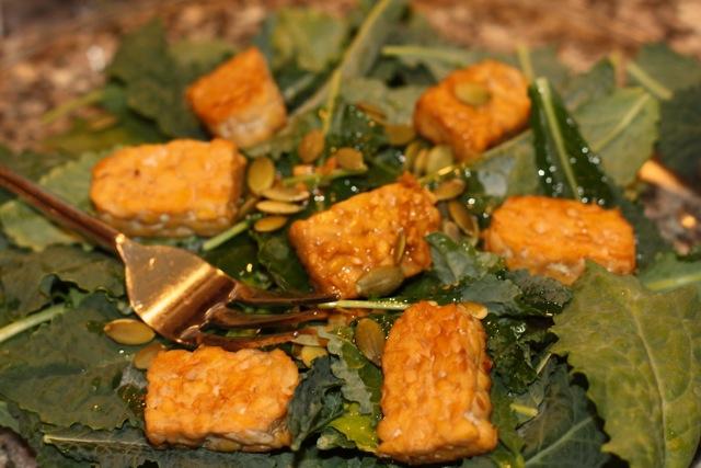tempeh pepita salad
