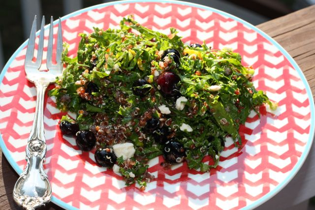 kale blueberry