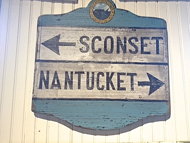 nantucket sign