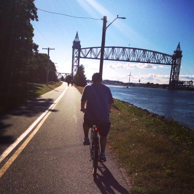Russ biking
