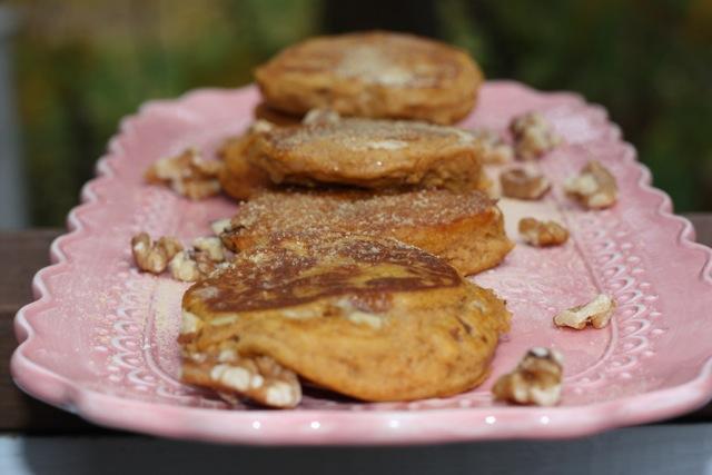 Sweeeeeet Potato Pancakes (low FODMAP)