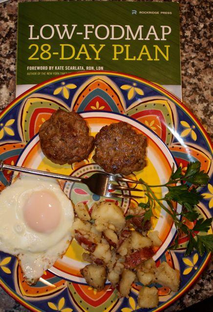 breakfast sausage & book