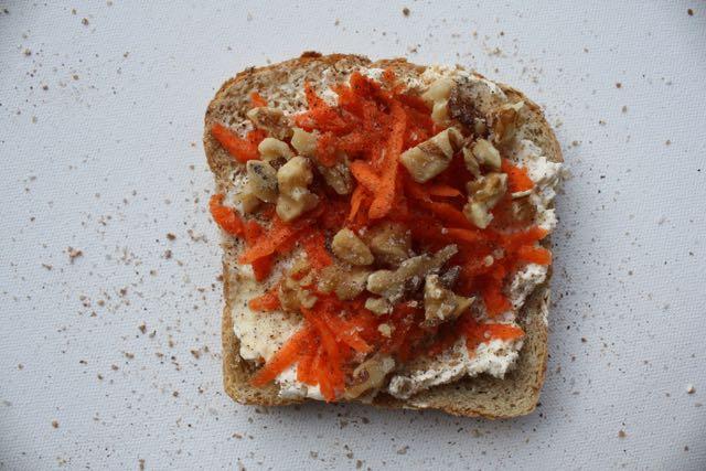 carrot cake toast