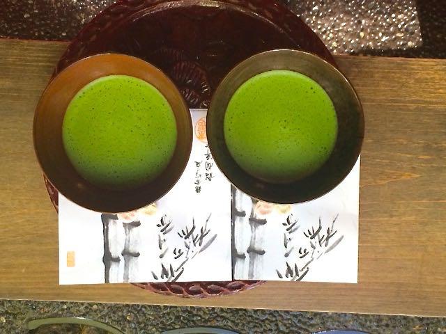 Tea at the shrine