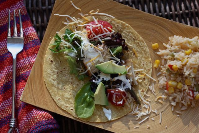 Flavorful low FODMAP fish tacos