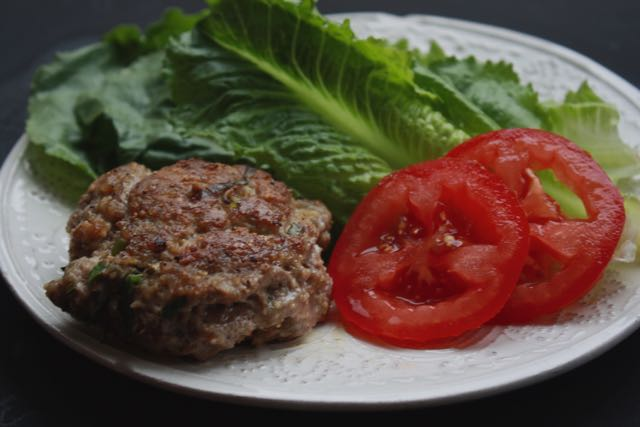 Rosemary and Sage Pork Burgers