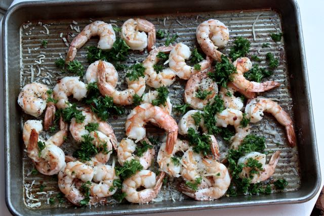Roasted shrimp