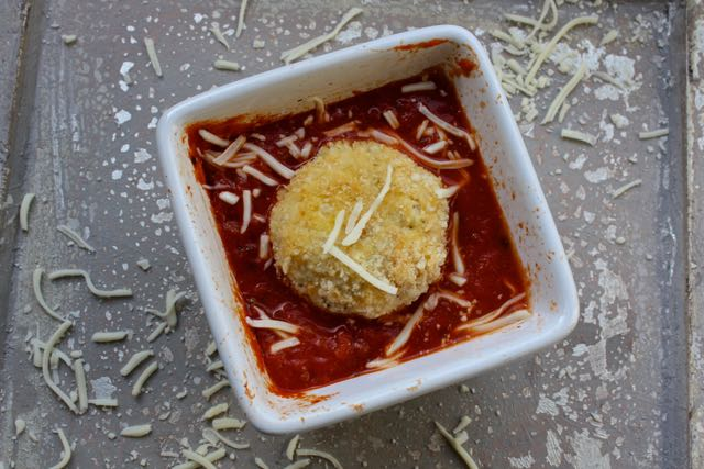 chicken parm meatball