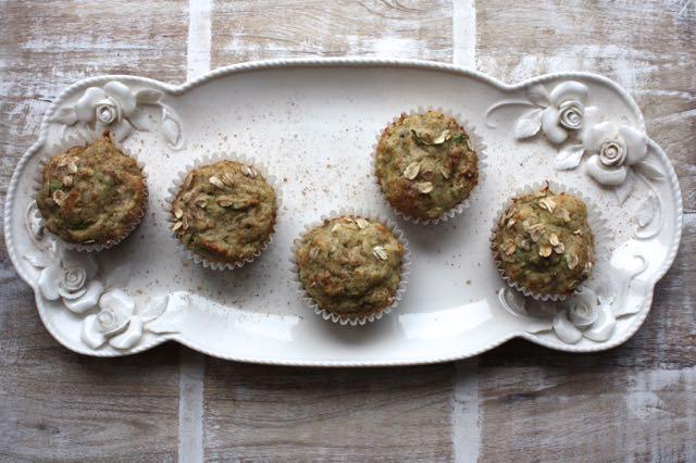 Low FODMAP Zucchini Muffins