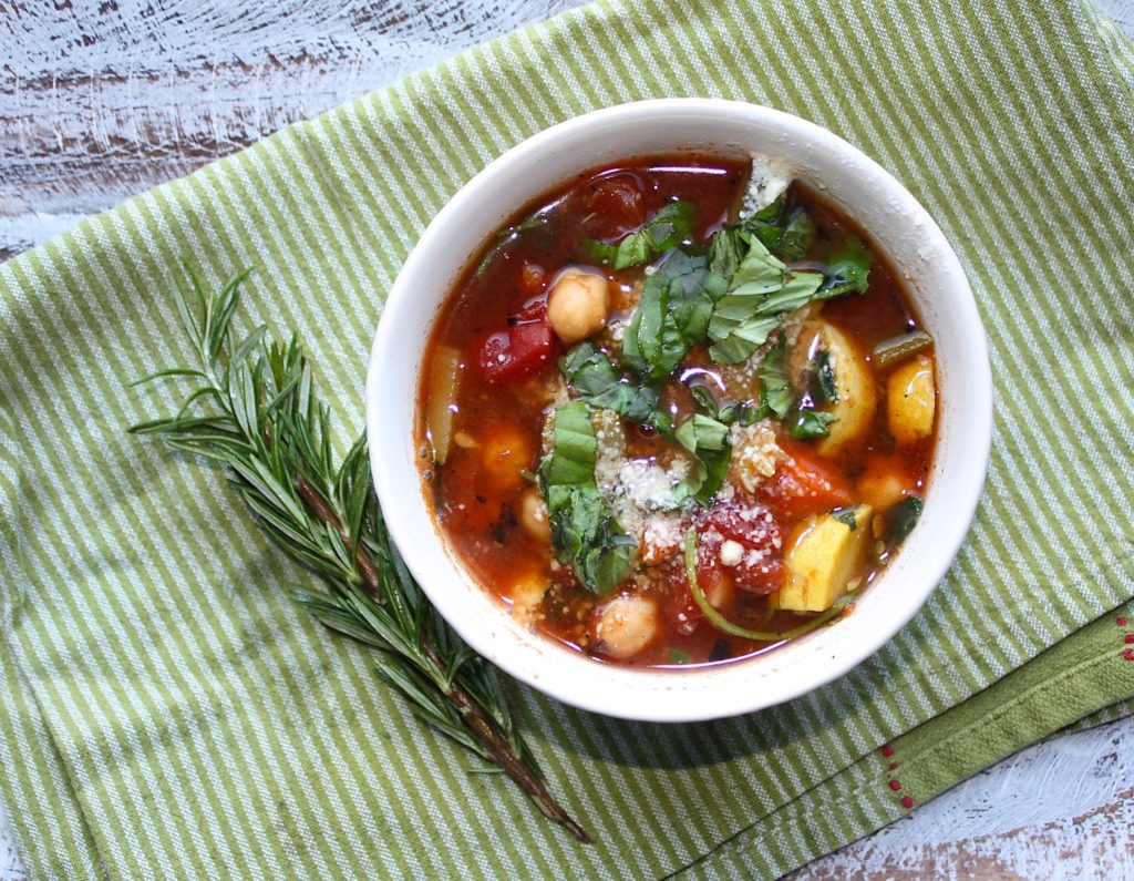 Vegetarian Stew with Casa de Sante